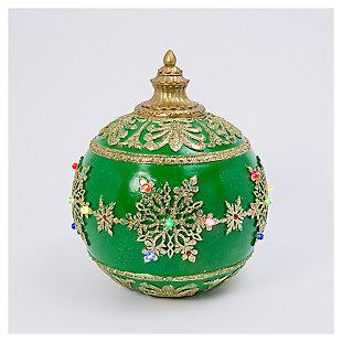"Decorative 18"" Jumbo Musical Ornament, , large"