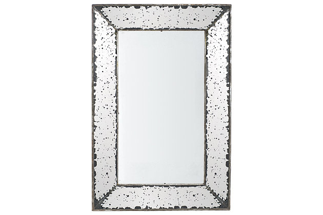 Silver Finish Home Accents Mirror by Ashley HomeStore