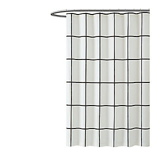 Geometric Shower Curtain, , large