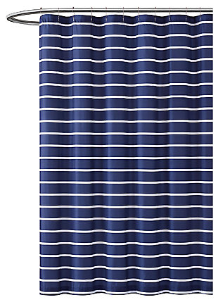 Striped Shower Curtain, , large