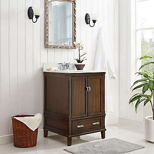 "Rectangular Rosemary 24"" Bathroom Vanity, , rollover"