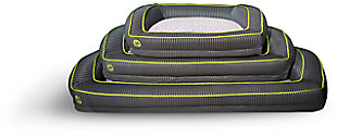 Bedgear Performance® Pet Bed - Small, Gray/Green, rollover