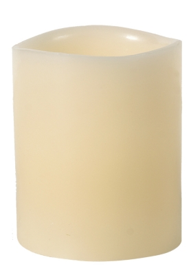 Ashley Home Accents Flameless Candle (Set of 6), Cream