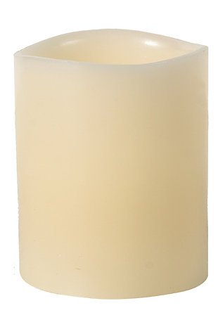 Home Accents Flameless Candle (Set of 6), Cream, rollover