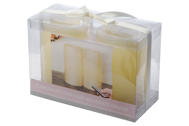Home Accents Flameless Candle (Set of 2) by Ashley HomeSt...