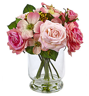 Home Accent Rose and Berry Arrangement, , large