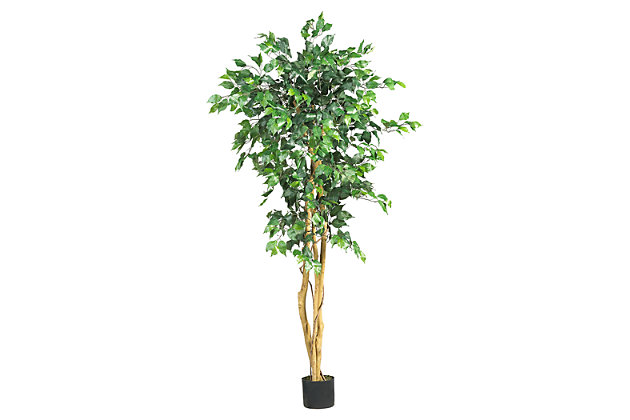 Home Accent 5' Ficus Silk Tree, , large