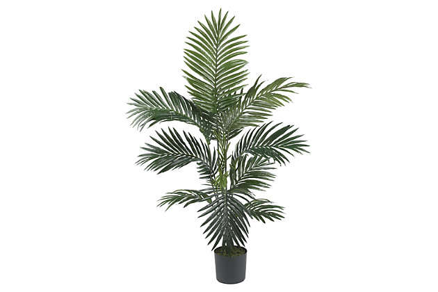 Home Accent 4' Kentia Palm Silk Tree, , large