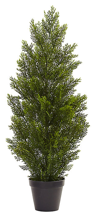 Home Accent 3' Mini Cedar Pine Tree (Indoor/Outdoor), , large