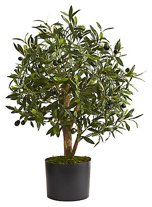 "Home Accent 29"" Olive Artificial Tree, , large"