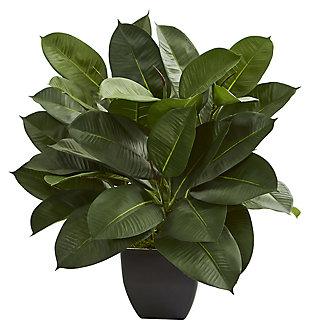 Home Accent Oak Ficus Artificial Plant, , large