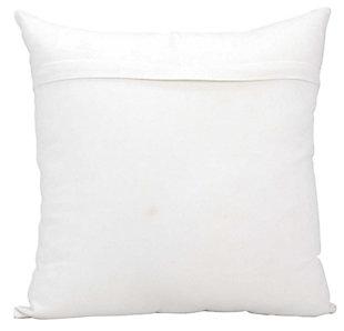Modern Sexy Mama Luminescence White Gold Pillow, , large