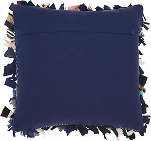 Modern Sock Shag Nordstrom Navy Pillow, , large