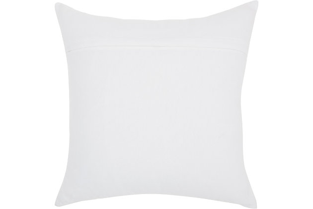 Modern Cassic Kitty White Pillow, , large