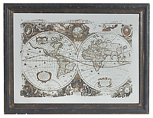 Home Accents Wall Art, Antique Black, large