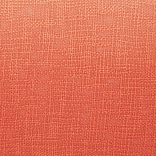 Modern Woven Ombre Life Styles Coral Throw, Coral, large