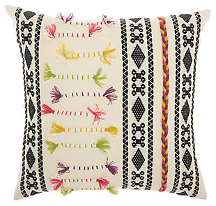 Modern Texture Patterns Life Styles Cream Pillow, , large