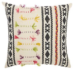 Modern Texture Patterns Life Styles Cream Pillow, , large