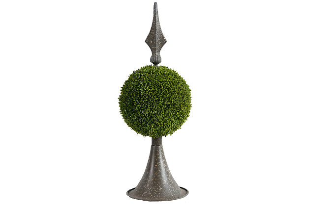 Home Accents Topiary, Green, large