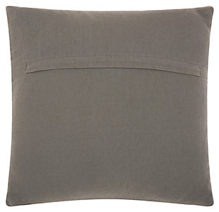 Modern Heavy Loop Diamond Life Styles Light Gray Pillow, , large