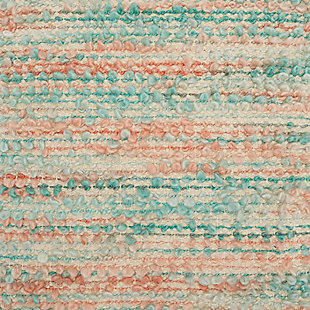 Modern Space Dyed Woven Life Styles Multicolor Pillow, , large