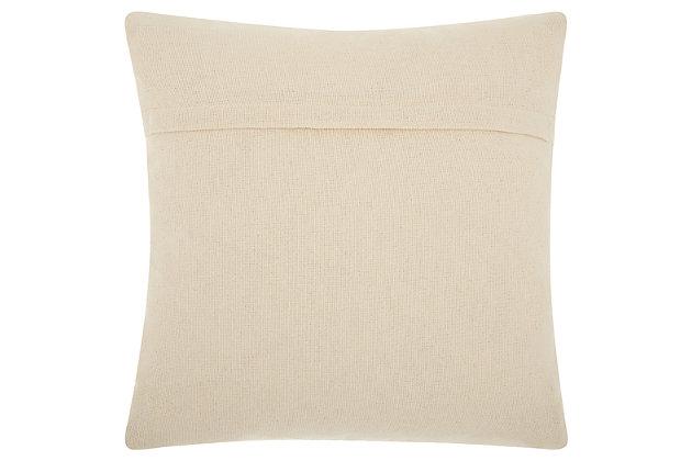 Modern Woven Denim Ombre Life Styles Denim Pillow, , large