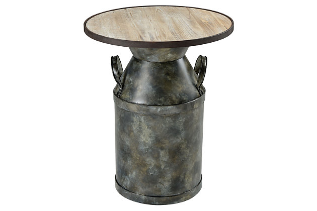 Modern Spacious Skies Accent Table, , large