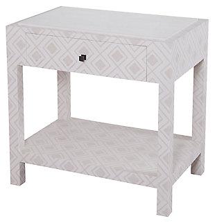 Modern Kent Bedside Table, , large