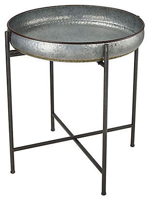 Modern Kettledrummer Accent Table, , large