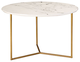 Modern Glacier Accent Table, , large