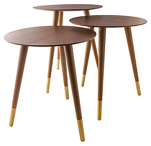 Modern Jetset Accent Table (Set of 3), , large