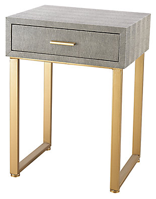 Modern Beaufort Point 1-Drawer Accent Side Table, , large