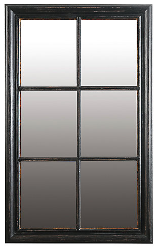 Home Accents Mirror, Antique Black, rollover