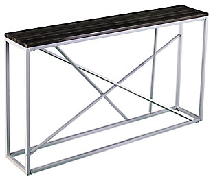 Home Accent Coulter Faux Slate Console Table, , large