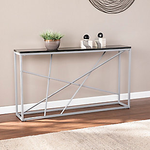 Home Accent Coulter Faux Slate Console Table, , rollover