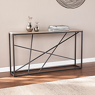 Home Accent Coulter Faux Marble Console Table, , rollover