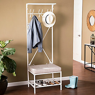 Home Accent Cinna Bench/Storage Rack, , rollover
