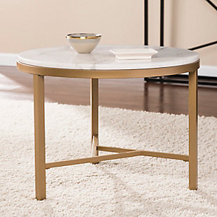 Home Accent Dennis Marble Accent Table, , rollover