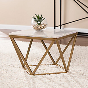 Home Accent Jacen Marble Accent Table, , rollover