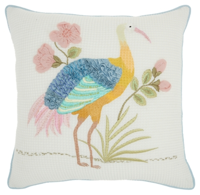 "Decorative Mina Victory Plushlines 18"" X 18"" Pillow, , large"