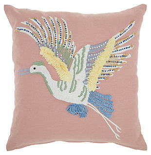 "Decorative Mina Victory Plushlines 18"" x 18"" Pillow, , large"