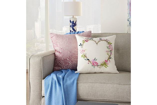 "Decorative Mina Victory Life Styles 18"" x 18"" Pillow, , large"