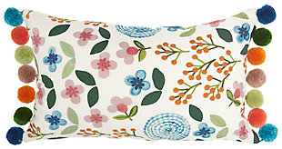 "Decorative Mina Victory Life Styles 12"" x 20"" Pillow, , large"