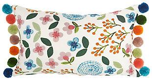 "Decorative Mina Victory Life Styles 12"" x 20"" Pillow, , large"