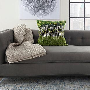 "Decorative Mina Victory Life Styles 20"" x 20"" Pillow, , large"
