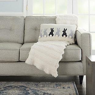"Decorative Mina Victory Plushlines 16"" x 24"" Pillow, , large"