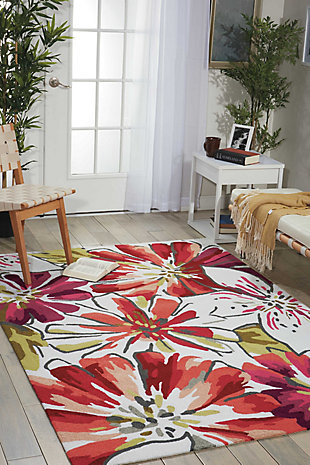 Decorative Nourison Fantasy 3' x 5' Area Rug, , rollover