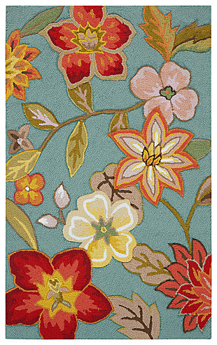 Decorative Nourison Fantasy 2' x 4' Area Rug, , large