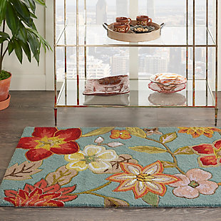 Decorative Nourison Fantasy 2' x 4' Area Rug, , rollover
