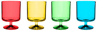 Acrylic Stacking Wine Goblet (Set of 4), , large